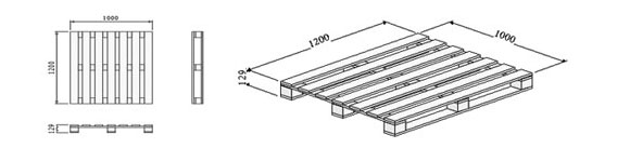 07.-Four-way-entry-non-reversible-pallet-with-open-boarded-deck